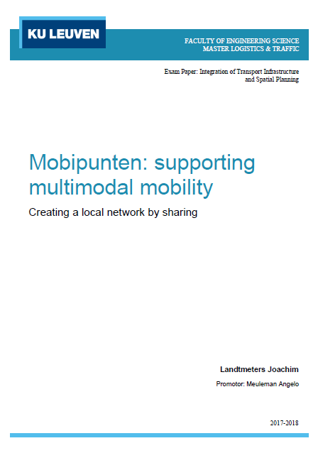 Mobihubs: supporting multimodal mobility